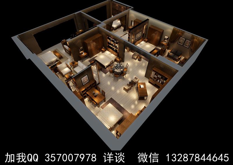 家具展厅设计案例效果图_图1-14