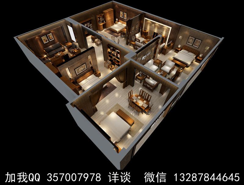 家具展厅设计案例效果图_图1-13