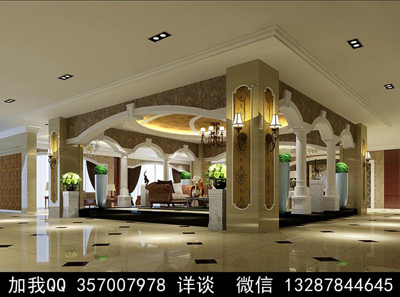 家具展厅设计案例效果图_图1-12