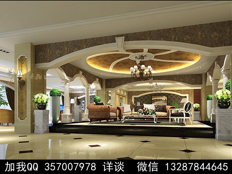 家具展厅设计案例效果图_图1-11