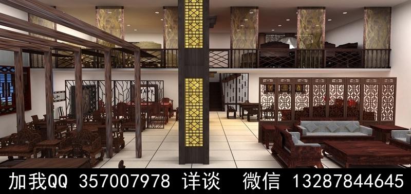 家具展厅设计案例效果图_图1-6