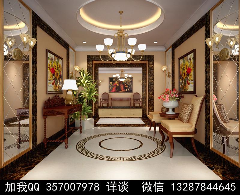 家具展厅设计案例效果图_图1-7