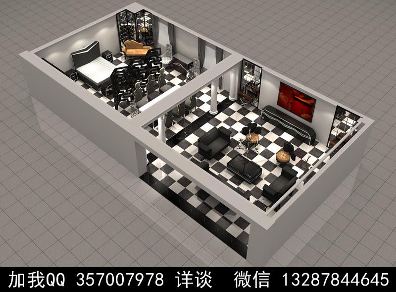 家具展厅设计案例效果图_图1-5