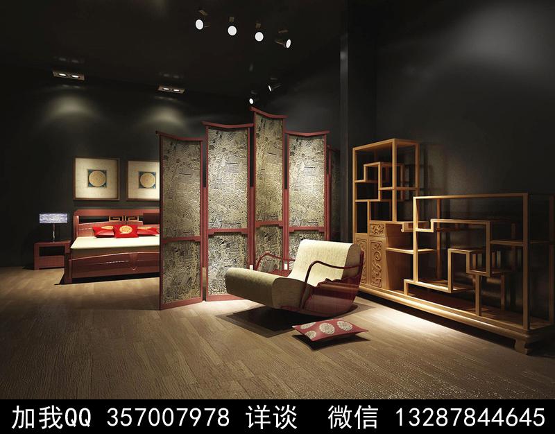 家具展厅设计案例效果图_图1-1