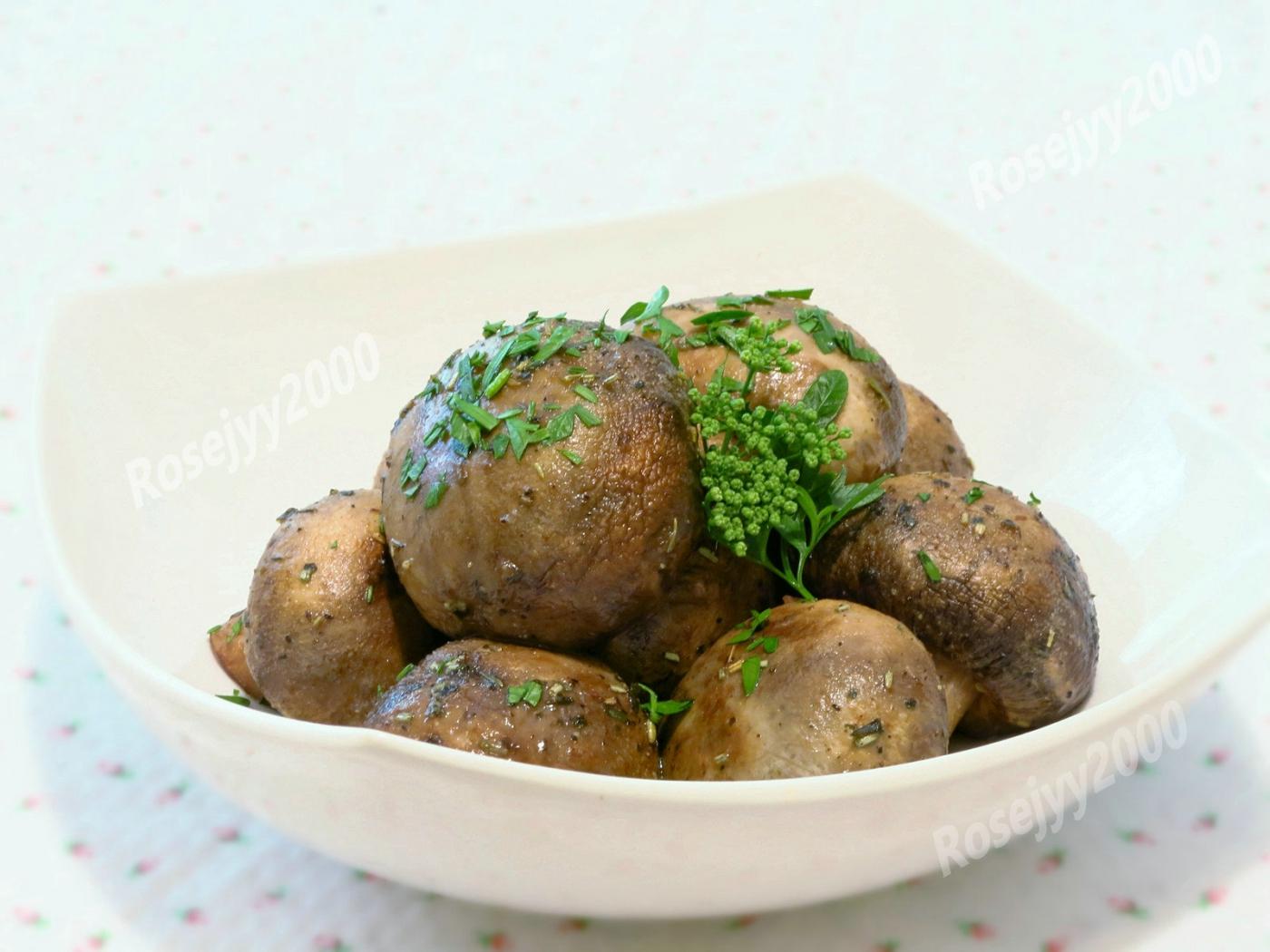 香草烤蘑菇_图1-1