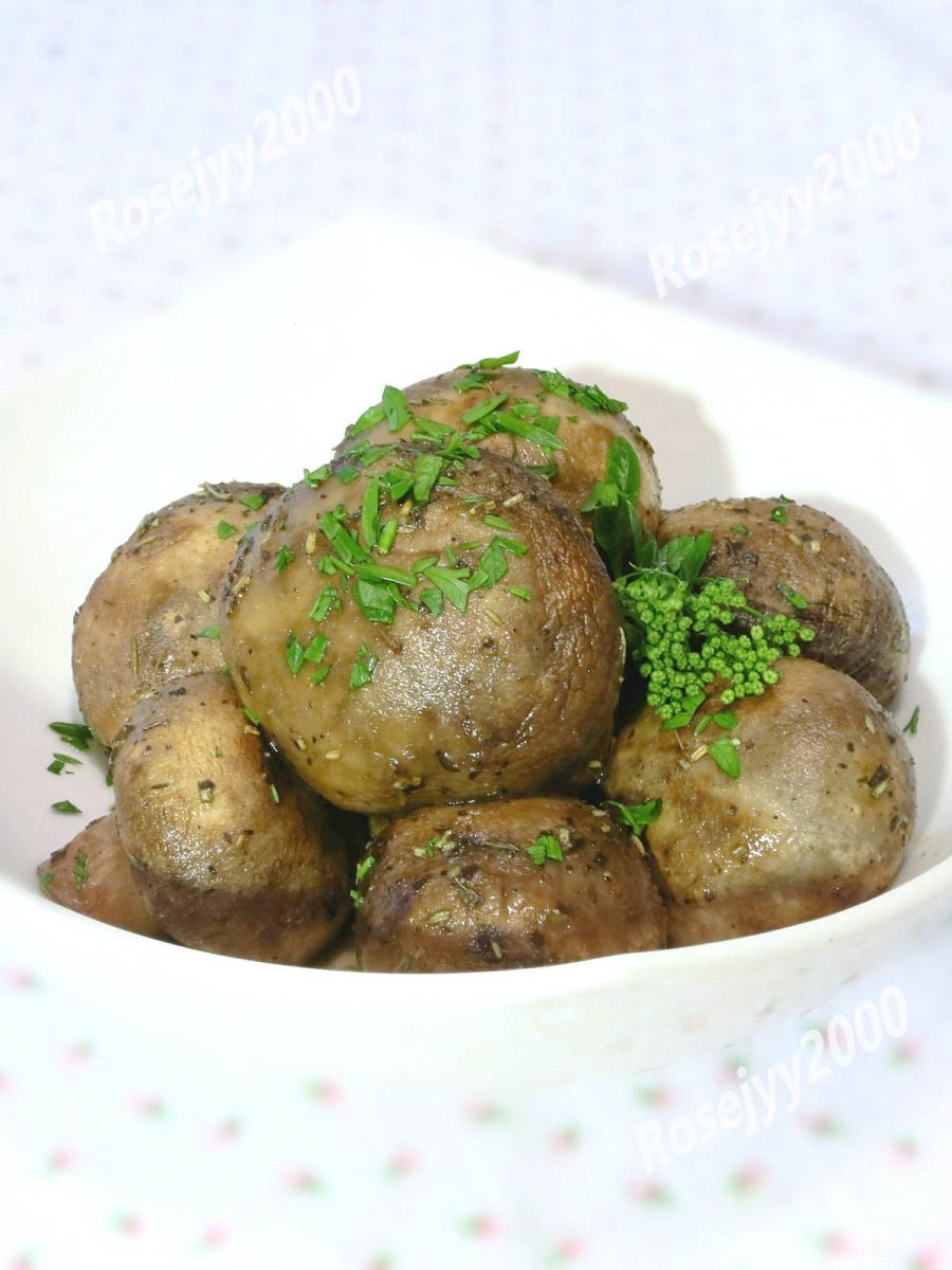香草烤蘑菇_图1-3