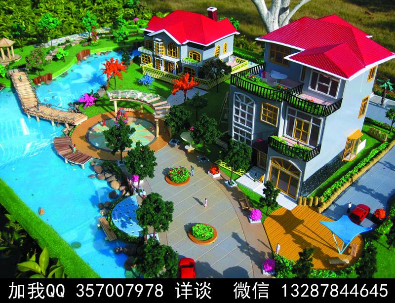 别墅院子设计案例效果图_图1-42