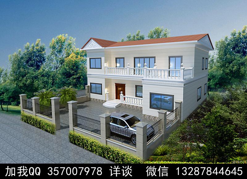 别墅院子设计案例效果图_图1-18