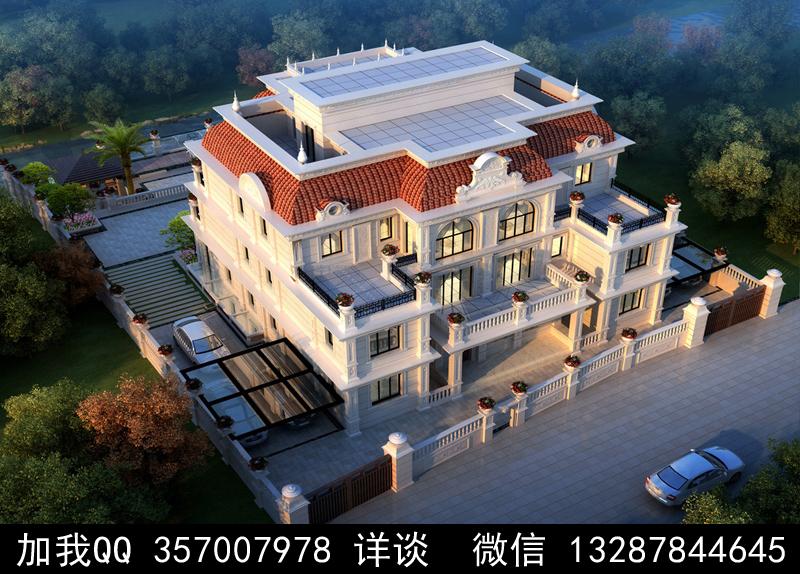 别墅院子设计案例效果图_图1-5