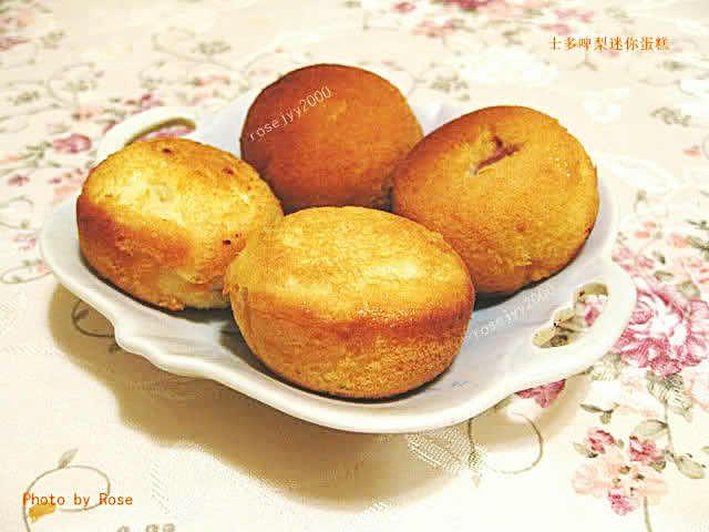 简易Strawberry小蛋糕(非烤箱版)_图1-1
