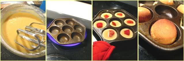 简易Strawberry小蛋糕(非烤箱版)_图1-2