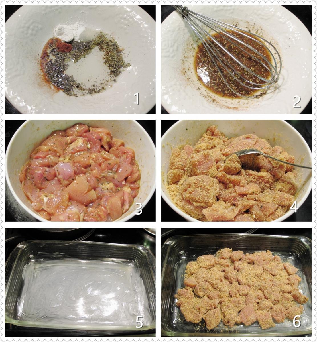 酥炸香草鸡块_图1-2