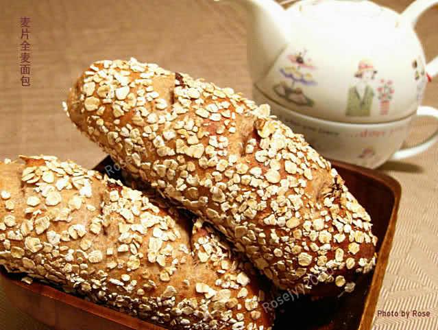 全麦麦片面包_图1-6