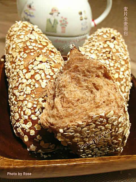 全麦麦片面包_图1-7