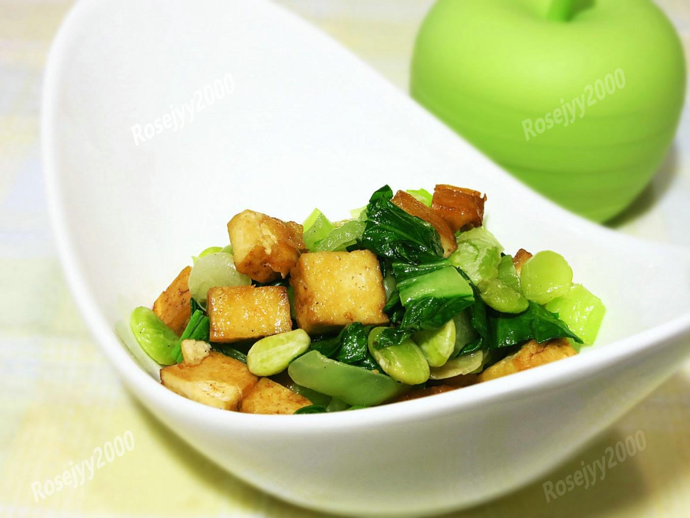 豆干素炒_图1-1