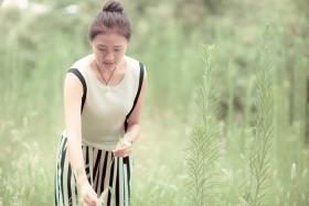 【华夏之友】摄影俱乐部外拍--邻家女孩林小