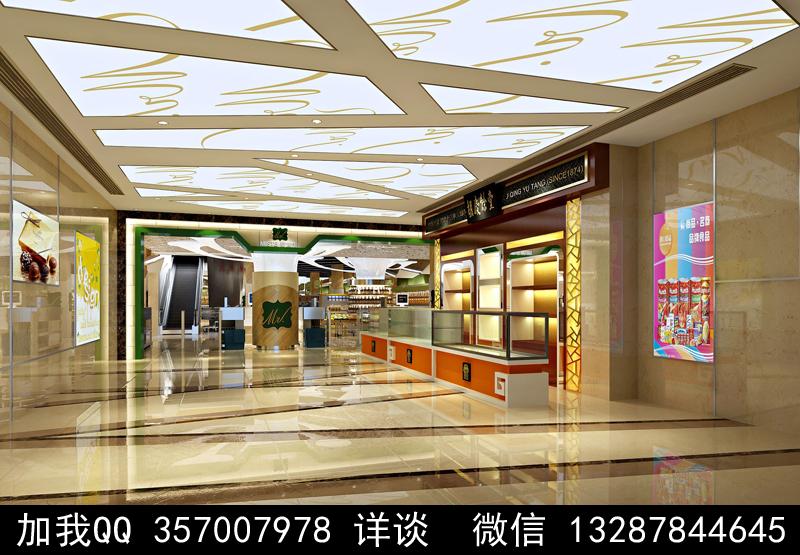 超市设计案例效果图_图1-5