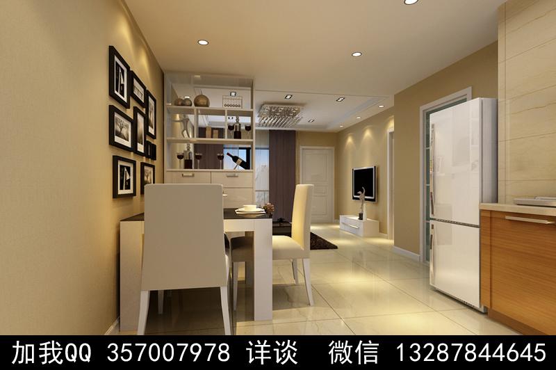 简约风格家装设计案例效果图_图1-5