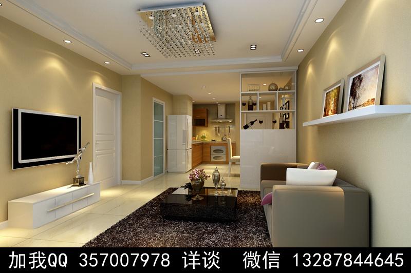 简约风格家装设计案例效果图_图1-4