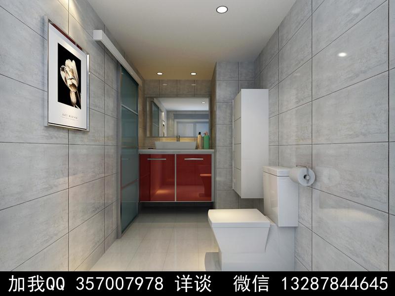 简约风格家装设计案例效果图_图1-3