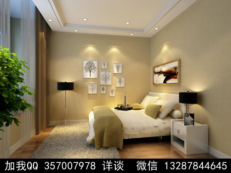 简约风格家装设计案例效果图_图1-2