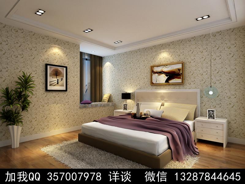 简约风格家装设计案例效果图_图1-1