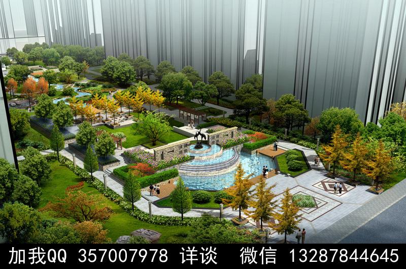 公园设计案例效果图_图1-17