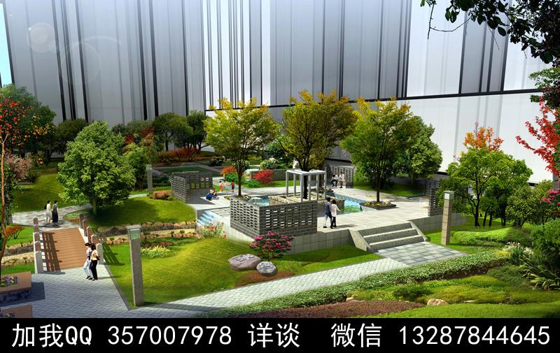公园设计案例效果图_图1-18