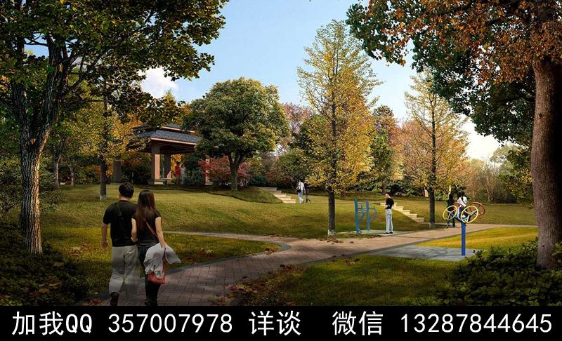 公园设计案例效果图_图1-15