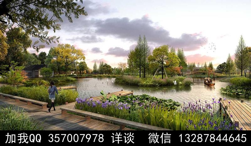 公园设计案例效果图_图1-12