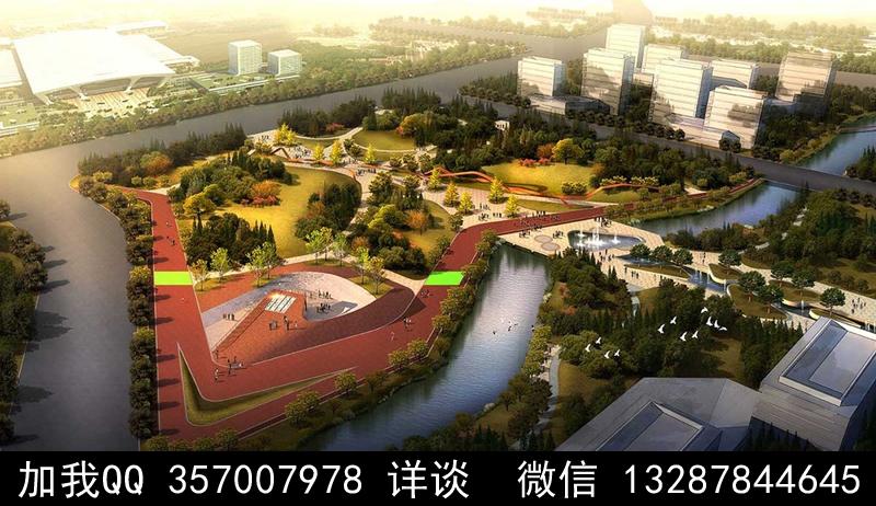 公园设计案例效果图_图1-11