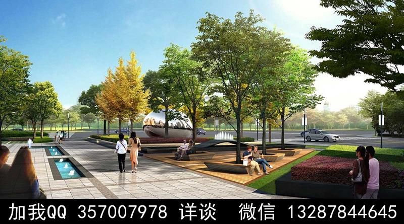 公园设计案例效果图_图1-6