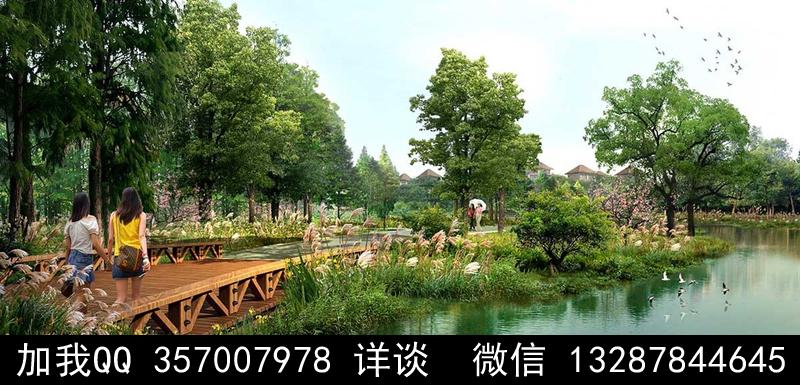公园设计案例效果图_图1-7
