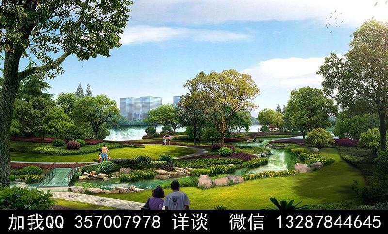 公园设计案例效果图_图1-8