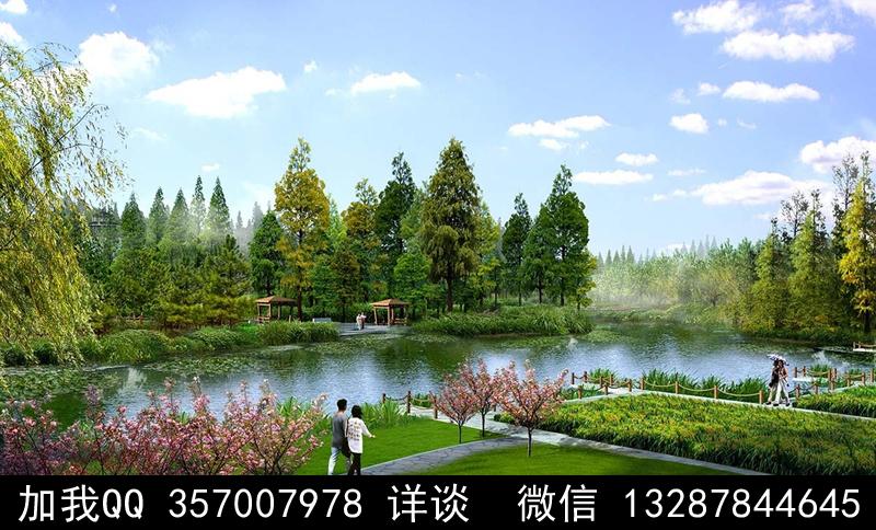 公园设计案例效果图_图1-9