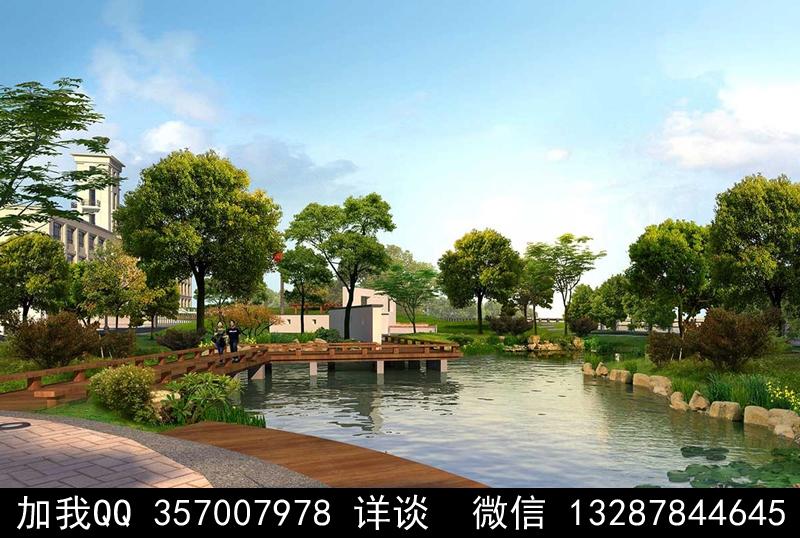 公园设计案例效果图_图1-10