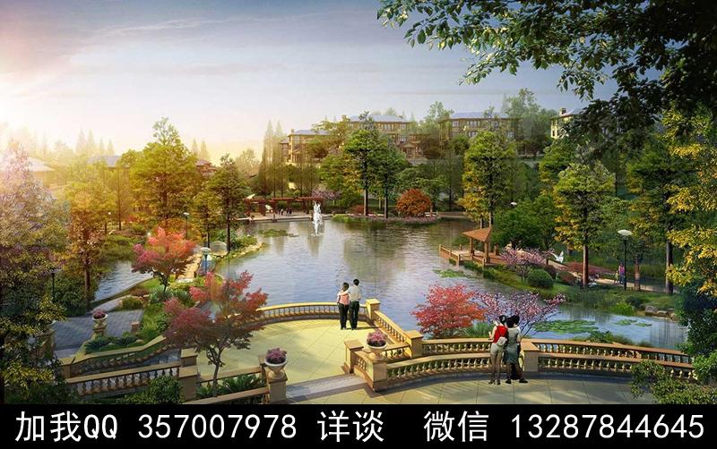公园设计案例效果图_图1-5