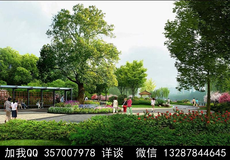 公园设计案例效果图_图1-2