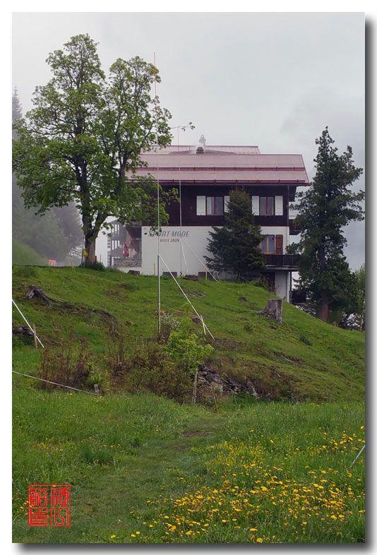 《酒一船摄影》:悬崖上的小镇,烟雨缪伦(Mürren)_图1-7