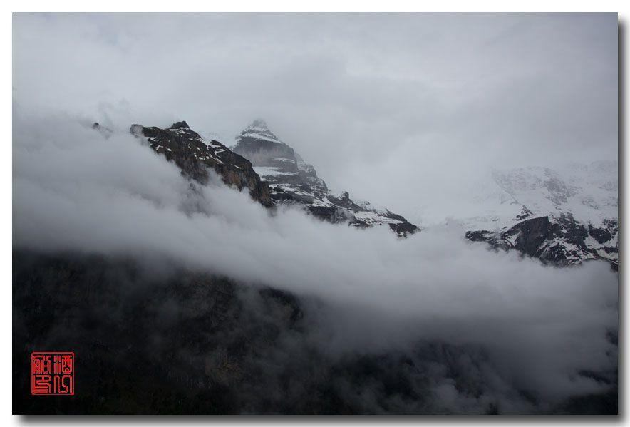《酒一船摄影》:悬崖上的小镇,烟雨缪伦(Mürren)_图1-9