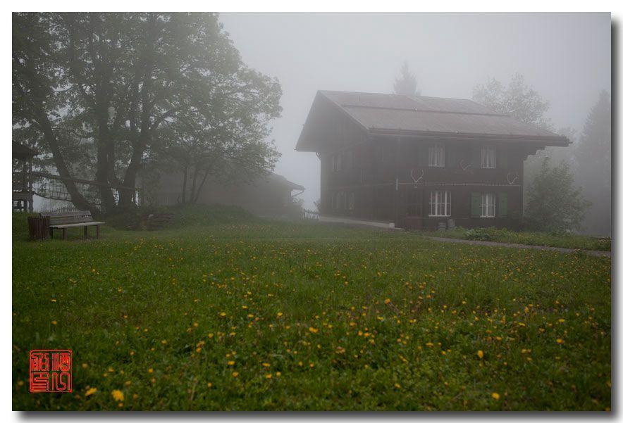 《酒一船摄影》:悬崖上的小镇,烟雨缪伦(Mürren)_图1-10