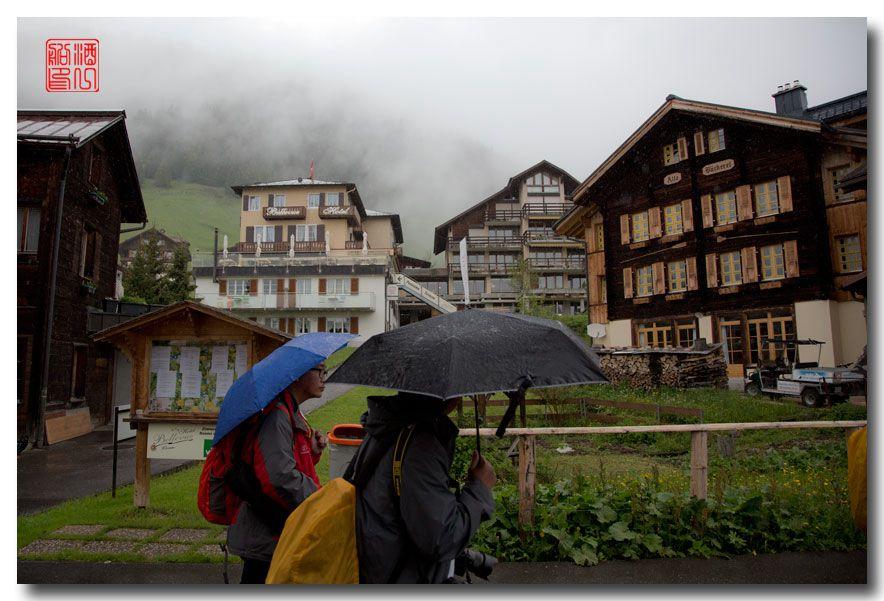 《酒一船摄影》:悬崖上的小镇,烟雨缪伦(Mürren)_图1-14