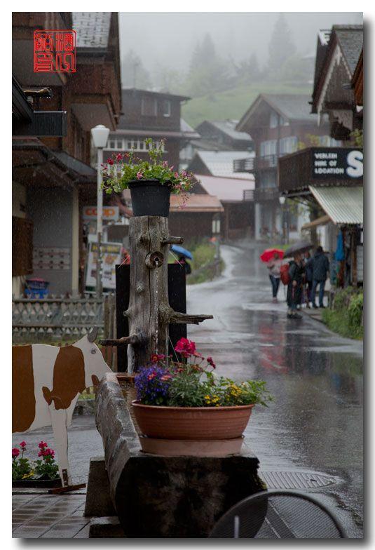《酒一船摄影》:悬崖上的小镇,烟雨缪伦(Mürren)_图1-16