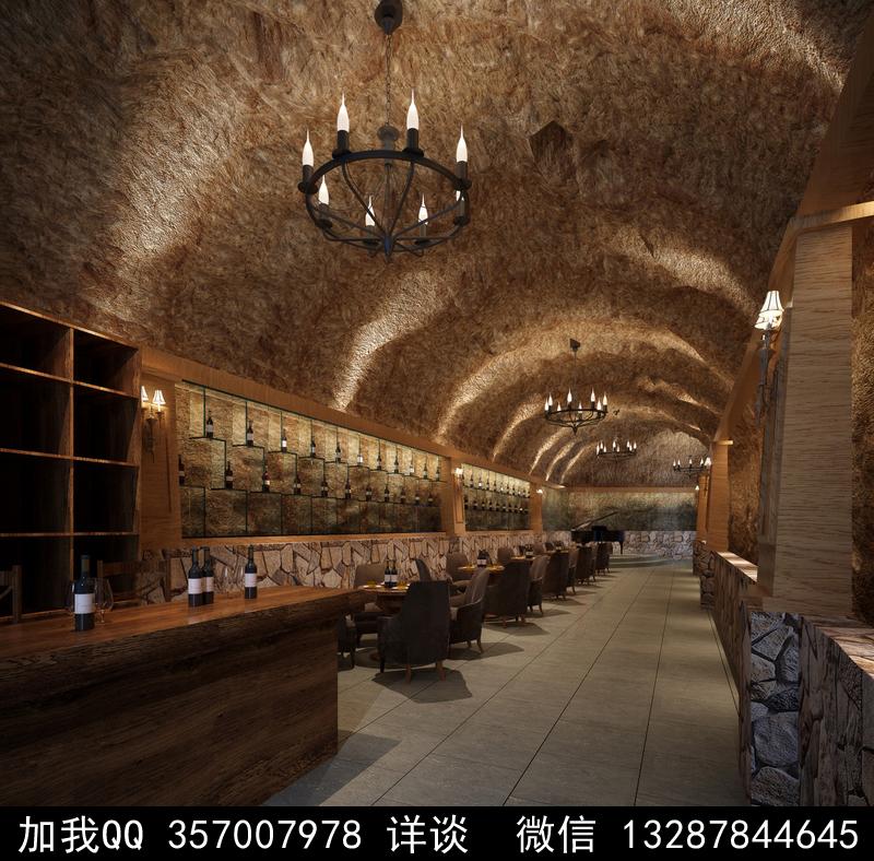 酒吧设计案例效果图_图1-19