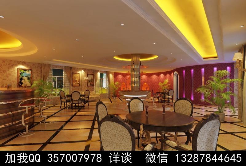 酒吧设计案例效果图_图1-12