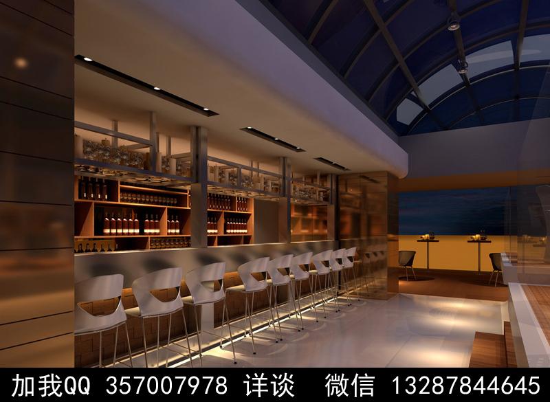 酒吧设计案例效果图_图1-11