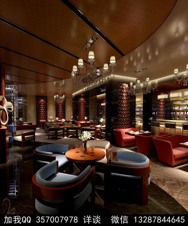 酒吧设计案例效果图_图1-6