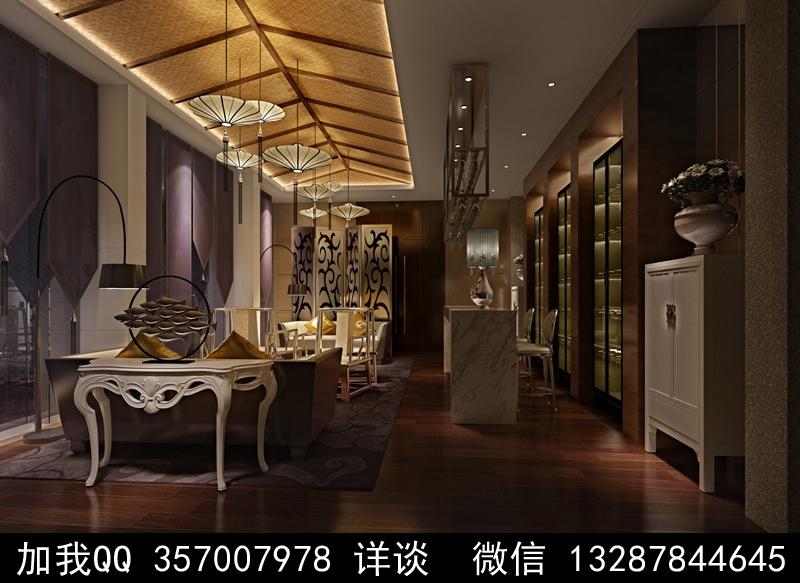 酒吧设计案例效果图_图1-8