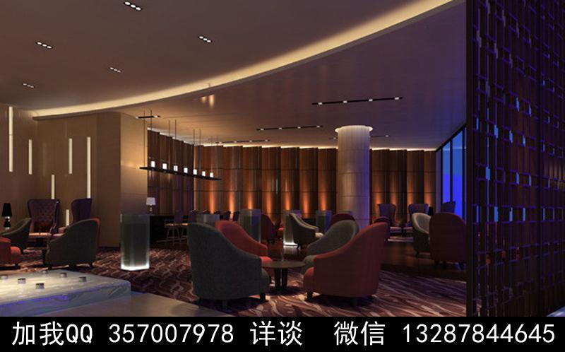 酒吧设计案例效果图_图1-10