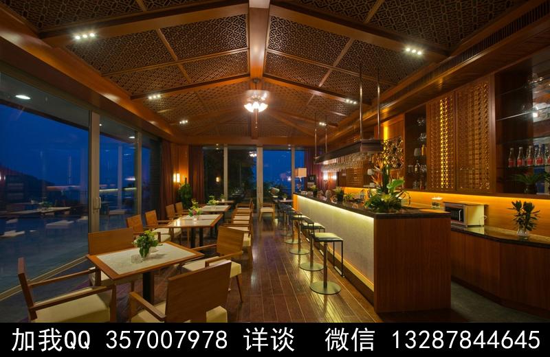 酒吧设计案例效果图_图1-3